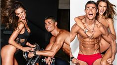 Cristiano Ronaldo and Alessandra Ambrosio are collaborating on a secret project GQ's Body Issue Cover Shoot .It may be cold outside, but Alessandra Ambrosio . Body Issues, Alessandra Ambrosio, Cristiano Ronaldo, Gq, Marketing, Cover, Swimwear, Bathing Suits, Swimsuits