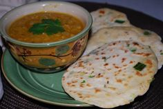 Easy Red Lentils with Scallion Flatbread and all other lentil recipes