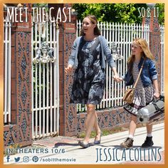"""Show me soof, Mama."" - Heidi  Jessica Collins is Mama. #meetthecast #sobit #soof"