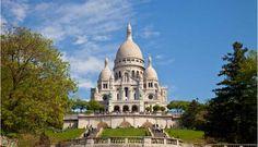 Paris, Sacre Coeur and Montmartre.