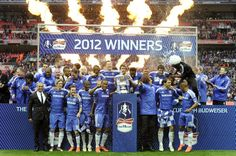 Chelsea Are The 2012 FA Cup Winners!