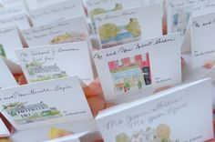 design table cards