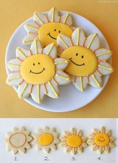 Try to bake some sunshine cookies today.