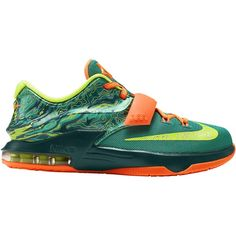 Nike KD 7 Boys' Grade School ($115) ❤ liked on Polyvore featuring shoes