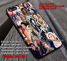 Demi Lovato Collage Neon Light case/cover for iPhone 4/4s/5/5c/6/6 /6s/6s…