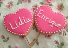 Lidía y Enrique cookies