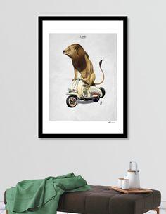 Giclee art print on heavyweight Fine Art paper, 310gsm, acid-free, 100% cotton art   decor   wall art   inspiration   animals   home decor   idea   humor