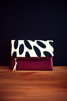 Work at home design clutch by HEIMARBEIT on Etsy
