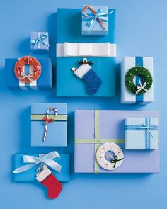 A present is two treats in one when you decorate the package with soft handmade ornaments. Pipe cleaners are also easy for young children to work with; make extra decorations to keep for yourself. How to Make the Pipe-Cleaner Wreath How to Make the Pipe-Cleaner Candy Cane How to Make the Pipe-Cleaner Stocking