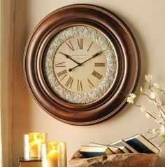 Alicia at Dallas Leopard found our Lennox Wall Clock at a grand opening! #kirklands #bloglovin