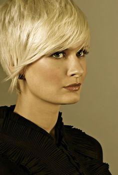 Blonde Short Hairstyles for Women | 2013 Short Haircut for Women