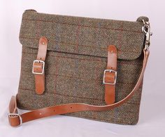 Harris Tweed Angus 13inch Laptop Sleeve by breagha on Etsy, £75.00