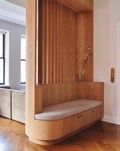 Noa Santos (@noasantos) • Instagram-foto's en -video's Foyer Design, Home Room Design, Home Interior Design, House Design, Design Kitchen, Exterior Design, Media Room Design, Divider Design, Modern Exterior