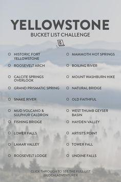 Yellowstone Nationalpark, Visit Yellowstone, Yellowstone Vacation, Yellowstone Park, Parc National, Grand Teton National Park, National Parks, New Orleans, Vacation Trips