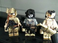 custom lego military minifig Legos, Lego Soldiers, Military Figures, Lego Stuff, Custom Lego, Lego Creations, Special Forces, Arsenal, Firefighter