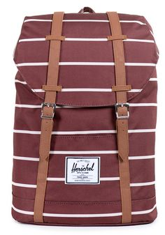 #planetsports HERSCHEL SUPPLY CO Retreat Backpack rust stripe