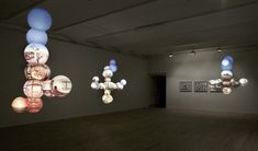 Bigert & Bergström - spheres with lighted photos