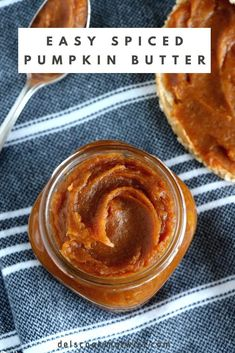 Spiced pumpkin spice butter is wonderful spread on toasts, bagels or muffins. Canned in a lovely jar, it also makes a spectacular holiday edible present! #pumpkin #fall #spices #cozyup #sweettreats Pumpkin Cinnamon Rolls, Spiced Pumpkin, Pumpkin Butter, Pumpkin Pie Spice, Pumpkin Recipes, Thanksgiving Recipes, Holiday Recipes, Christmas Recipes, Holiday Ideas