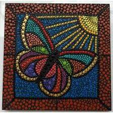 Resultado de imagen para mariposas en puntillismo