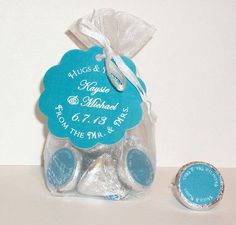 Wedding Favor Kit From The Mr And Mrs Organza Bags Hang Tags