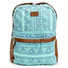 large chevron backpack | Best Chevron Backpacks for Girls | Aqua ...