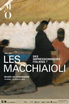 Les Macchiaioli, impressionnistes italiens, l'exposition au Musée de l'Orangerie
