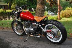 Post pics of your bobbed honda rebel! - Honda Rebel Forum