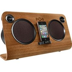 GET UP STAND UP  House of Marley EM-FA000-MI  30PIN FOR IPHONE IPOD IPAD  #marley   Price: $299.99
