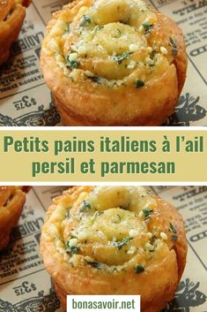 Italian rolls with parsley garlic and parmesan – Page 2 – Good To Know – Famous Last Words Healthy Breakfast Recipes, Snack Recipes, Italian Rolls, Crepes, No Salt Recipes, Italian Recipes, Italian Snacks, Cooking Time, Street Food