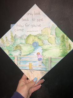 Graduation Poster Ideas Discover Custom Made Grad Cap Topper Disney Graduation Cap, Funny Graduation Caps, Graduation Cap Toppers, Graduation Cap Designs, Graduation Cap Decoration, Graduation Diy, Funny Grad Cap Ideas, Grad Hat, Cap Decorations