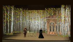 Scenic Design 4 Three Sisters