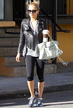 Cute Workout Clothes   Nicole Richie