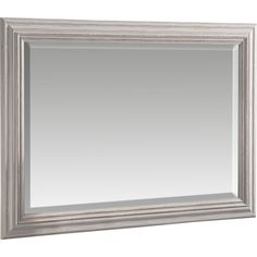Add a bit of character to your interior with this stunning shabby elegance distressed white framed mirror. The frame itself has a distressed white wash finish with a bevelled mirrored glass in the centre.