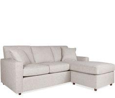 Solano Sofa Chaise With Ottoman