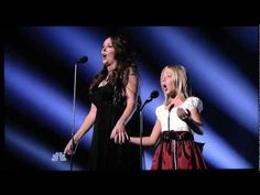 I got goosebumps!! Jackie Evancho sings with Sarah Brightman: America's Got Talent 2010 Finale