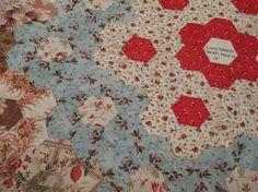 Hillside house: medallion quilt
