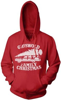 Christmas Vacation Griswold Family Christmas Red Adult Hoodie Sweatshirt