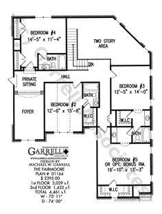 Fairmoore House Plan | House Plans by Garrell Associates, Inc