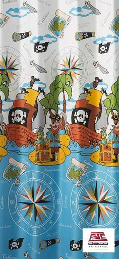 ESTAMPADO PIRATAS