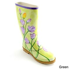 Corkys Women's 'Painted' Watercolor Print Rain Boots | Overstock.com Shopping - Great Deals on Boots