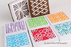 4x4 gift boxes from Lettering Delights