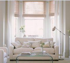 Crazy Wonderful Woven Wood Shades Bamboo roman shades White