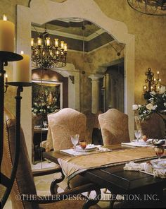 Casa Bellisima - Mediterranean Home Plans - Home Plan Styles - Sater Design Collection Plans