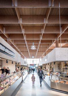 Tengbom, Felix Gerlach · The Temporary Market Hall