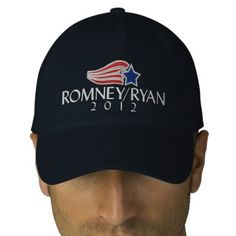 Romney/Ryan 2012 Embroidered Hat $24.95