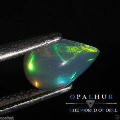 1.05 Cts 100% Natural Ethiopian Welo Fire Opal Cabochon Stone Play Color 4802