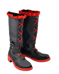 Introducing Ruby Rose Shoes RWBY Cosplay Ruby Red Leather Boots for Adults E. Get Your Ladies Products Here and follow us for more updates!
