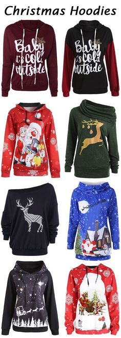 50+ Best Christmas hoodies For Women this winter.Free Shipping Worldwide!Merry Christmas