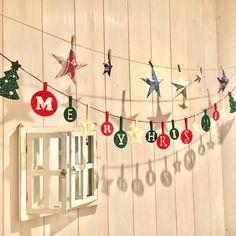 冬バージョン☆バーンスター☆他〜紙モノでクリスマスデコを簡単に華やかに〜♪ LIMIA (リミア) Christmas Room, Christmas Crafts, Christmas Decorations, Xmas, Holiday Decor, Diy Baby, Clock, Room Decor, Selfie