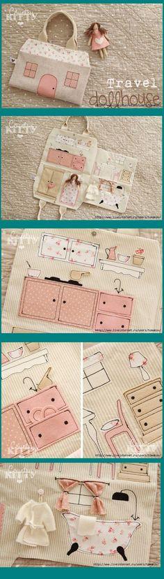 35 ideas para hacer una casita de muñecas